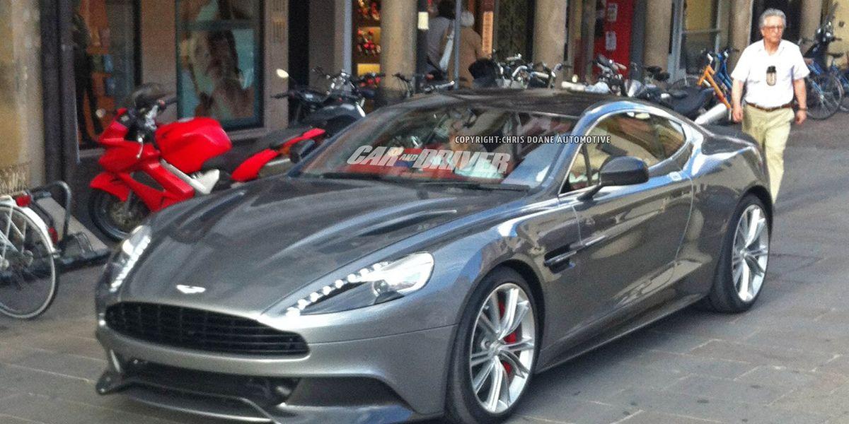 2013 Aston Martin Vanquish Spy Photos 8211 News 8211 Car And Driver