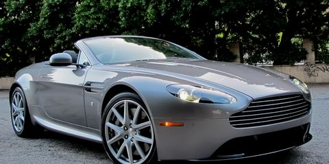2012 Aston Martin V8 Vantage Roadster First Drive 8211 Review 8211 Car And Driver