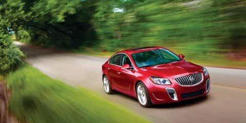 2012 Buick Regal GS Automatic Test - Review - Car and Driver