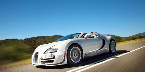 2013 Bugatti Veyron 16 4 Grand Sport Vitesse First Drive Review