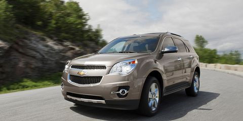 2013 Chevrolet Equinox 3 6 V6 First Drive –