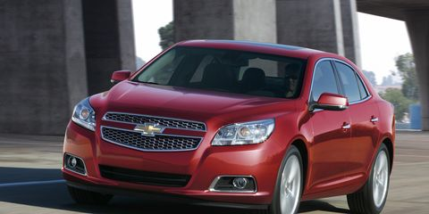 2013 Chevy Malibu Lt >> 2013 Chevrolet Malibu 2 5 Liter First Drive 8211 Reviews