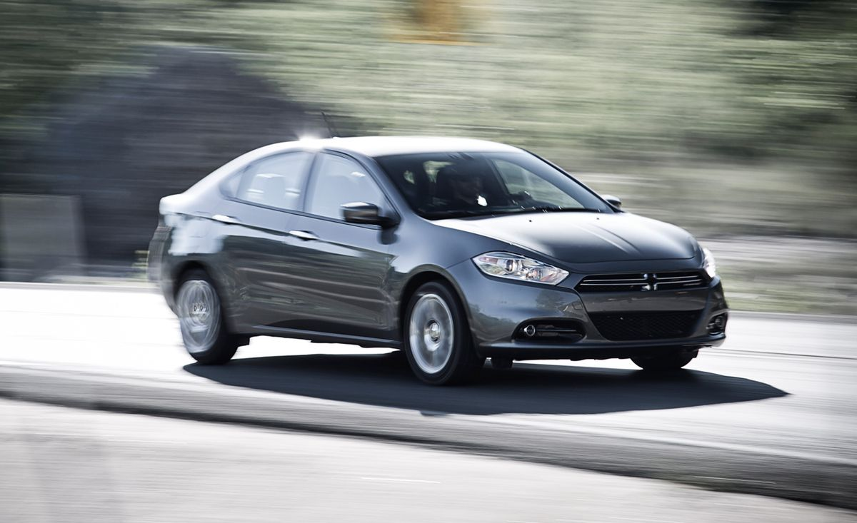 2013 Dodge Dart Limited Test Review Car And Driver