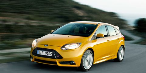 2013 Ford Focus St First Drive 8211 Review 8211 Car