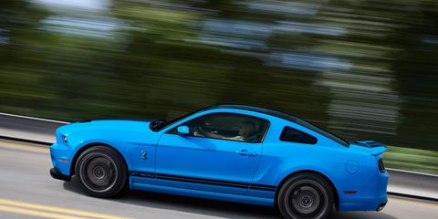2013 Ford Mustang Shelby GT500 Test –