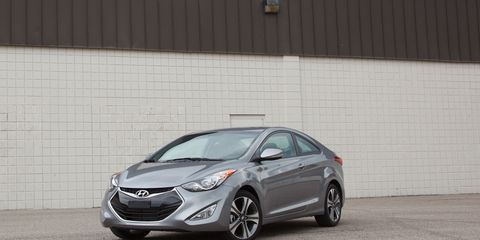Hyundai Elantra Coupe >> 2013 Hyundai Elantra Coupe Instrumented Test 8211 Review