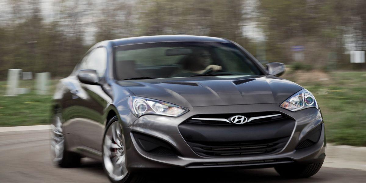 2013 Hyundai Genesis Coupe 3 8 R Spec Test Review Car