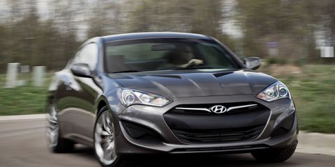 Genesis Coupe 2.0T >> 2013 Hyundai Genesis Coupe 3 8 R Spec Test Review Car