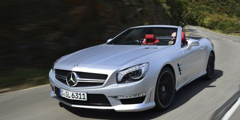 2013 Mercedes-Benz SL63 AMG First Drive - Review - Car and