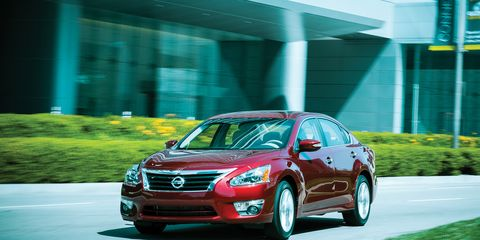 2013 Nissan Altima 2 5 SL Test –