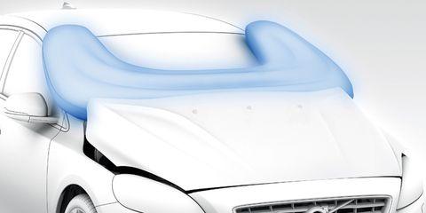 Motor vehicle, Automotive design, Mode of transport, Vehicle, Automotive exterior, Automotive mirror, Grille, Headlamp, Hood, White,