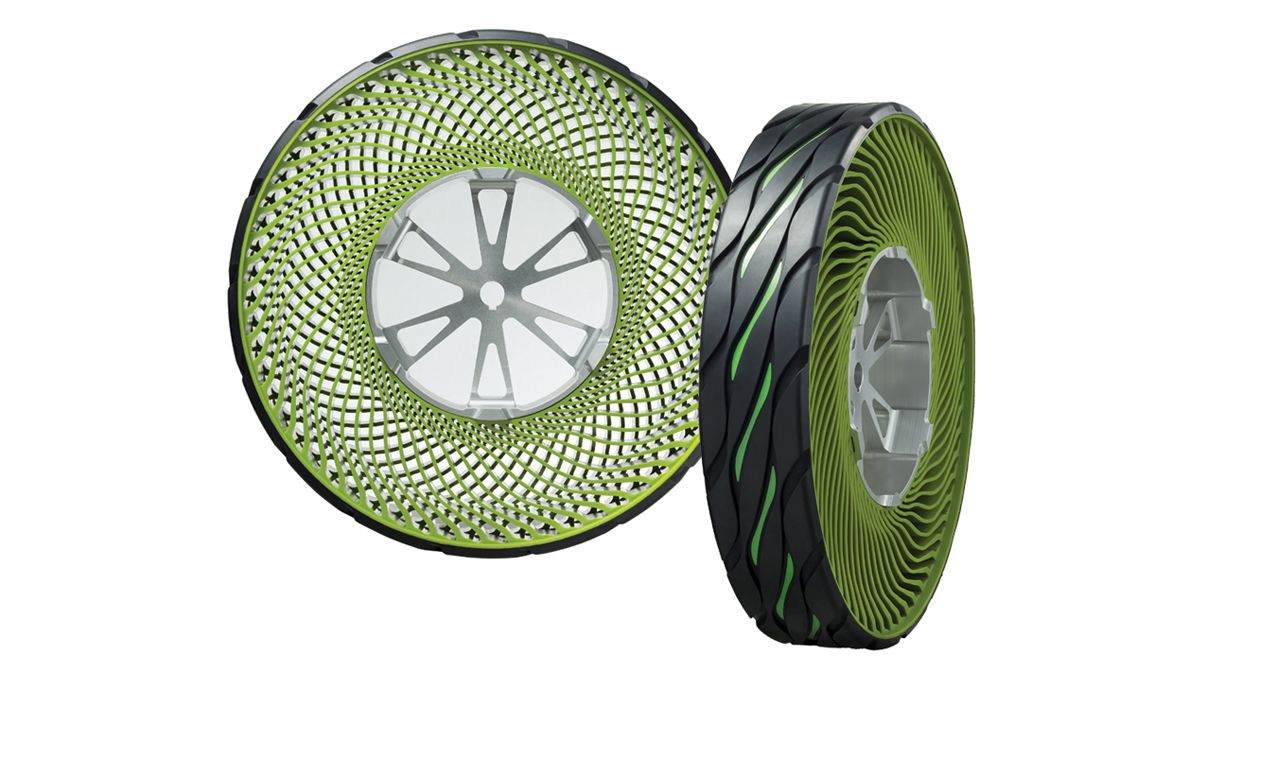 The Latest On Airless Tire And Wheel Combo