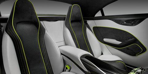 Motor vehicle, Mode of transport, Automotive design, White, Vehicle door, Car seat, Car seat cover, Grey, Luxury vehicle, Design,