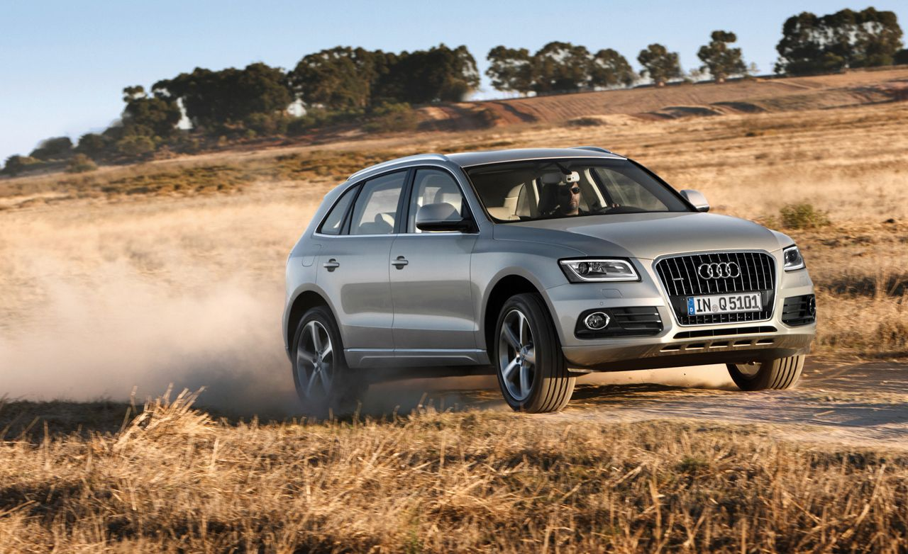 2013 Audi Q5 First Drive 8211 Review 8211 Car And Driver