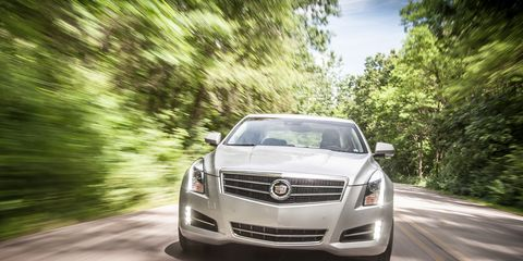 2013 Cadillac ATS 3 6 Instrumented Test –