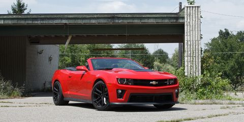 2013 Chevrolet Camaro ZL1 Convertible Test – Review – Car ...2013 Camaro Zl1 Convertible Review