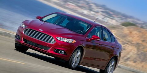 2013 Ford Fusion 1 6 And 2 0 Ecoboost First Drive 8211