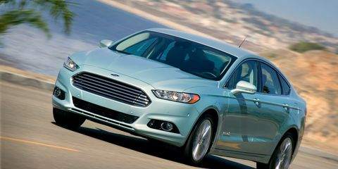 2013 Ford Fusion Hybrid First Drive 8211 Review 8211