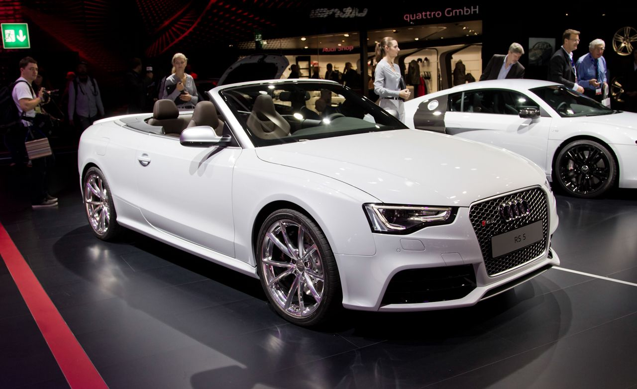 2013 Audi Rs5 Cabriolet Photos And Info 8211 News 8211 Car And Driver