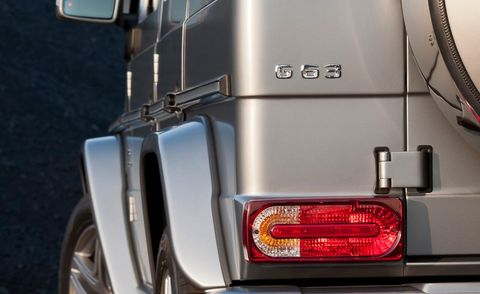 2013 Mercedes G63 AMG taillight