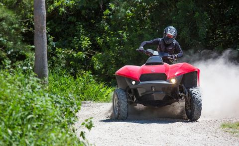 Tire, Wheel, Automotive tire, All-terrain vehicle, Tread, Fender, Helmet, Off-road vehicle, Auto part, Off-roading,