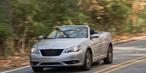 Chrysler 200 Convertible >> 2013 Chrysler 200 Convertible V 6 Test 8211 Review 8211