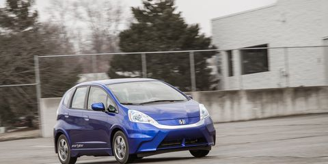 2013 Honda Fit Ev Test 8211 Review 1728211 Car And Driver