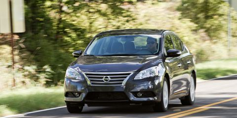 2013 Nissan Sentra SL 1 8 Test - Review - Car and Driver