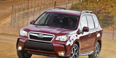 2014 Subaru Forester First Drive 8211 Review 8211 Car And Driver