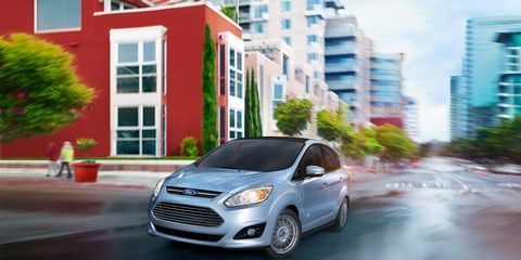 Image Ford Recently Introduced The Five Seat C Max