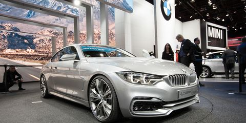 2014 Bmw 4 Series Coupe Concept 8211 News 8211 Car And