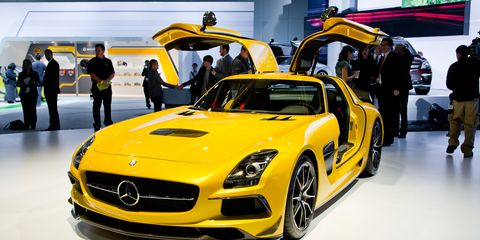 Sls Black Series >> 2014 Mercedes Benz Sls Amg Black Series Photos And Info 8211 News