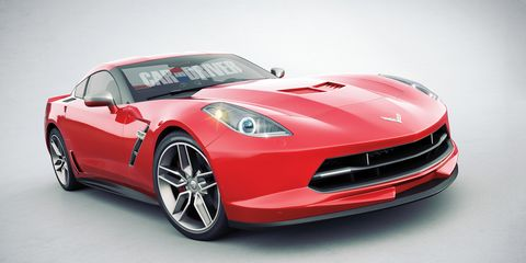2014 Chevrolet Corvette C7 Secret Info And Renderings News