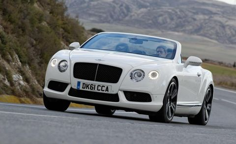 Automotive design, Road, Vehicle, Infrastructure, Car, Grille, Fender, Bentley, Personal luxury car, Road surface,