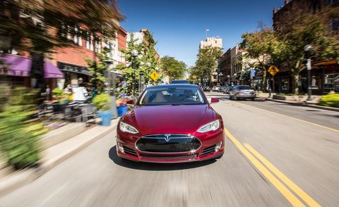 2012 Model S Takes EVs to a Higher Level