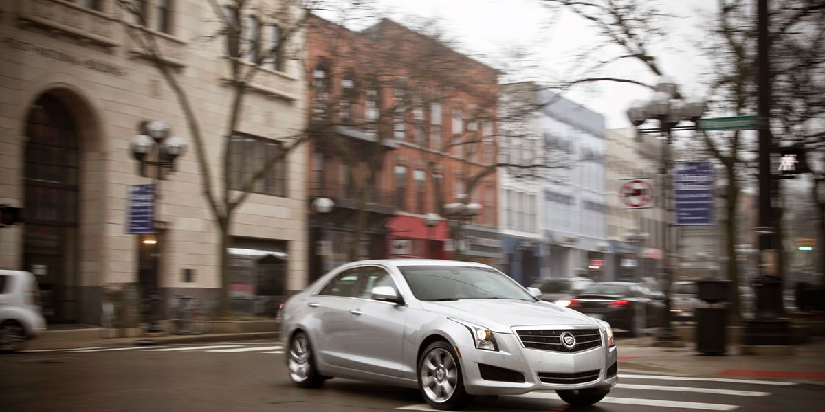 2013 Cadillac ATS 2.5L Test -Â Review - Car and Driver