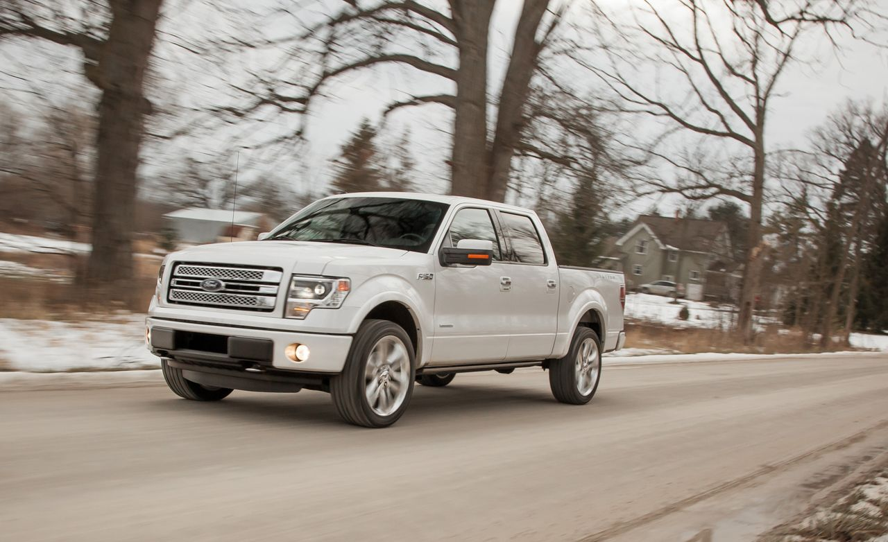 2013 ford f-150 length