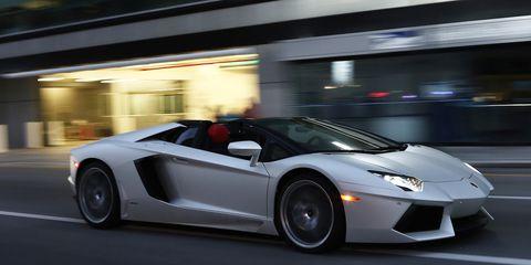 2013 Lamborghini Aventador Lp700 4 Roadster First Drive 8211