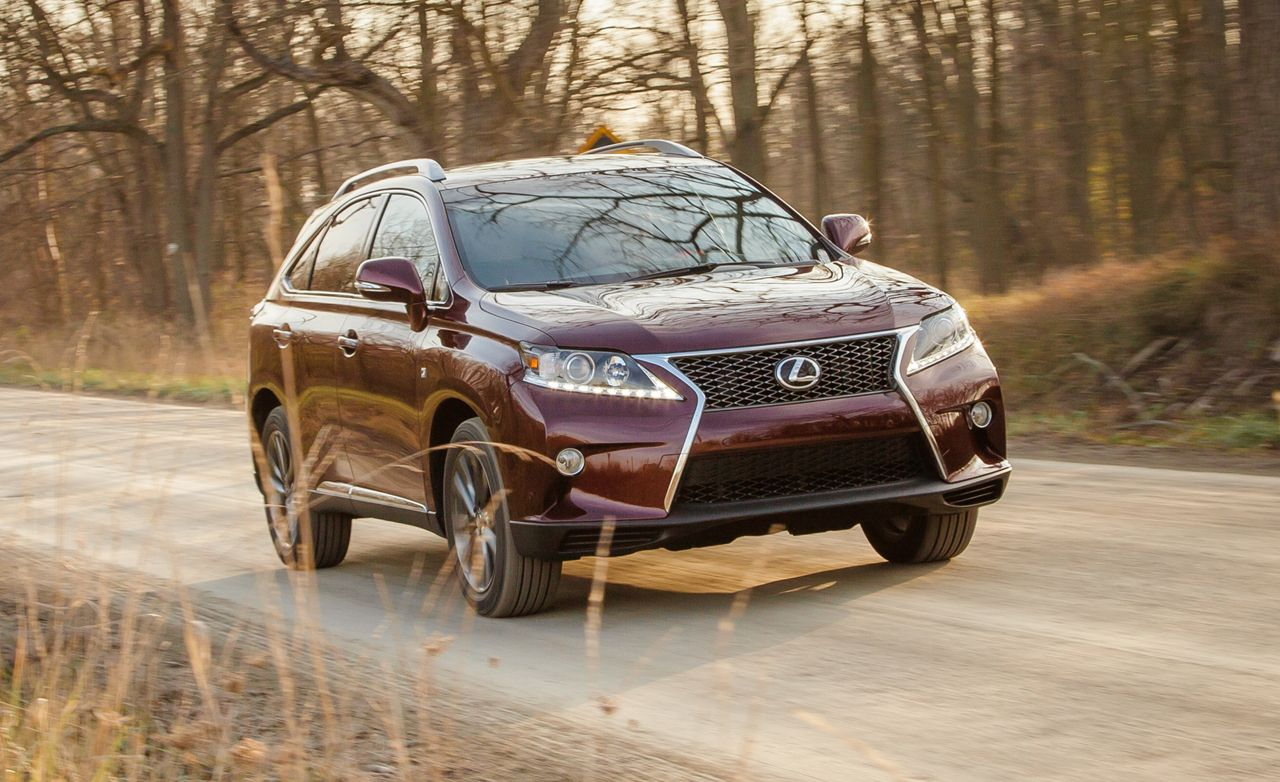2013 Lexus Rx350 F Sport Test 8211 Review 8211 Car And Driver