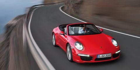 Motor vehicle, Mode of transport, Automotive design, Transport, Road, Automotive lighting, Car, Red, Performance car, Asphalt,