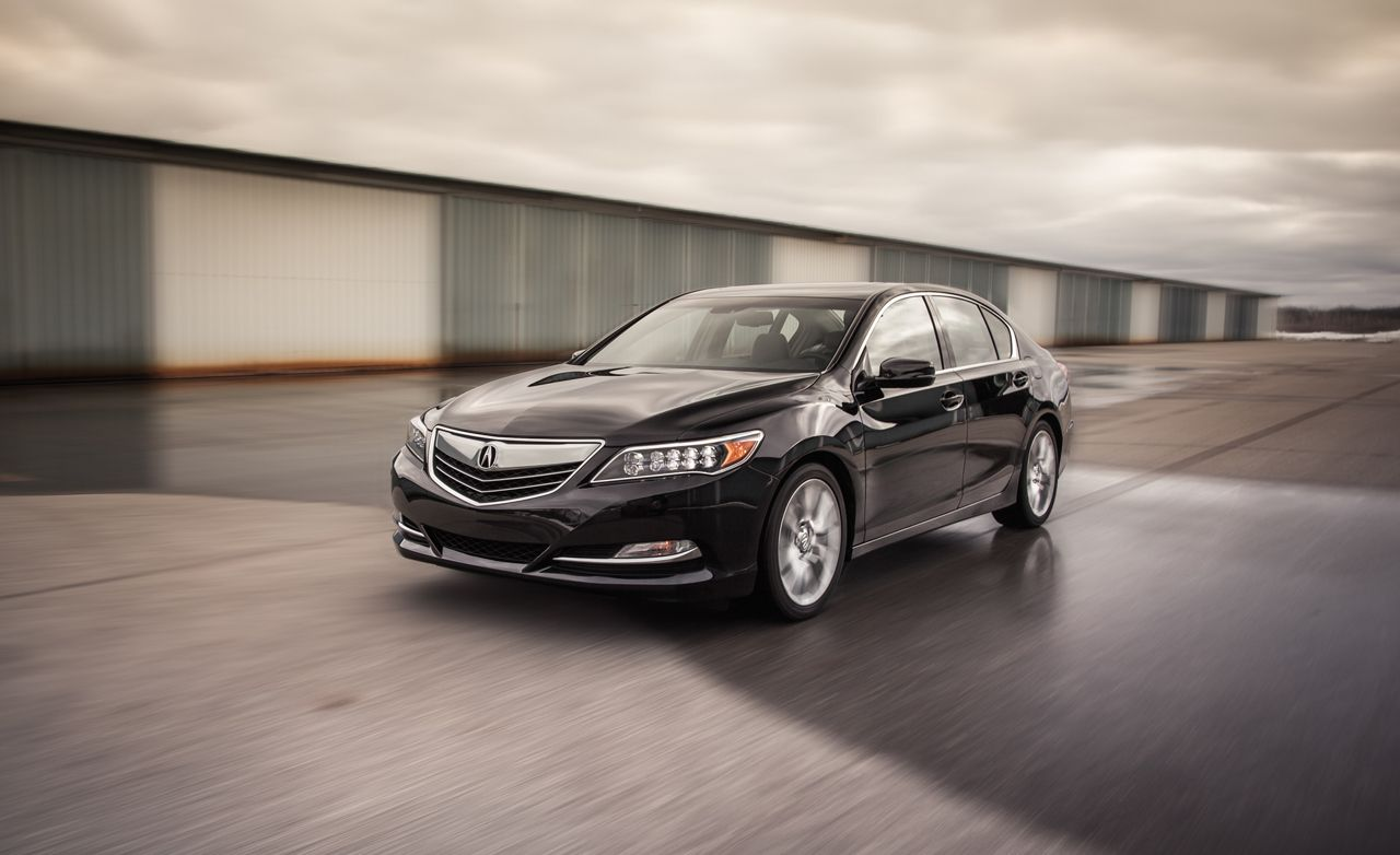 2014 Acura Rlx Fwd Tested
