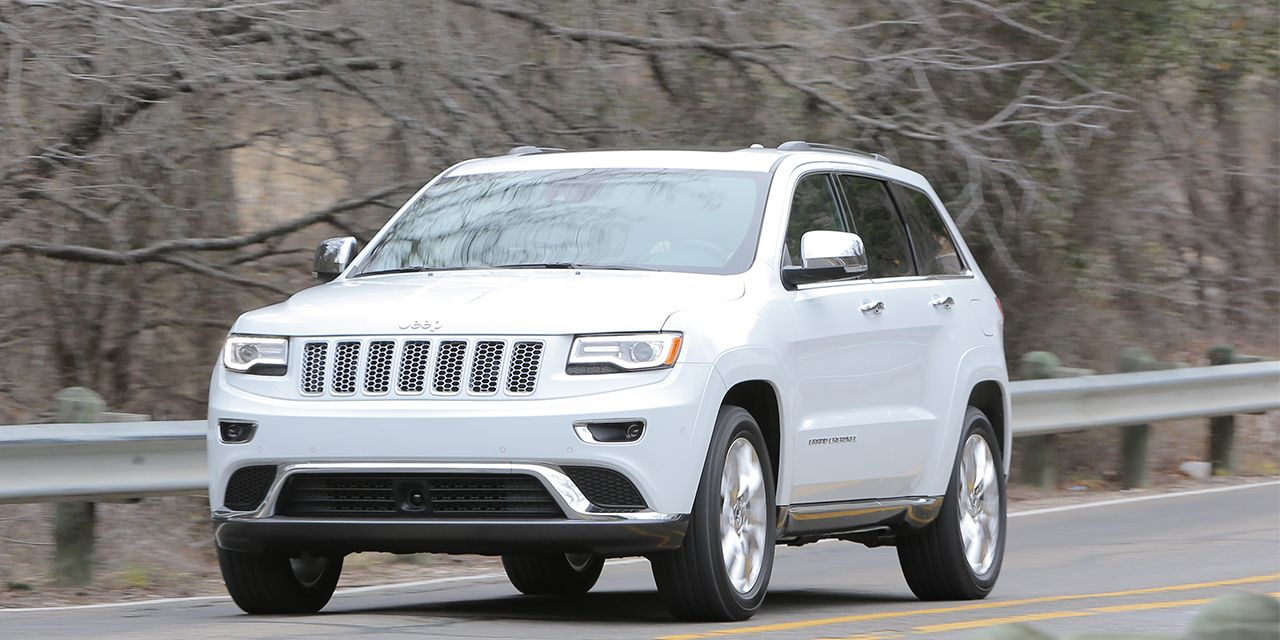 2014 Jeep Grand Cherokee Ecodiesel V 6 First Drive 8211 Review