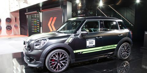 2013 Mini John Cooper Works Countryman All4 Dakar Winner Photos And