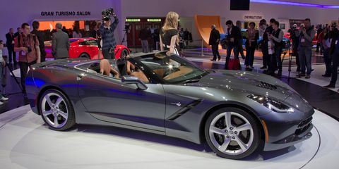 2014 Chevrolet Corvette C7 Stingray Convertible Photos And