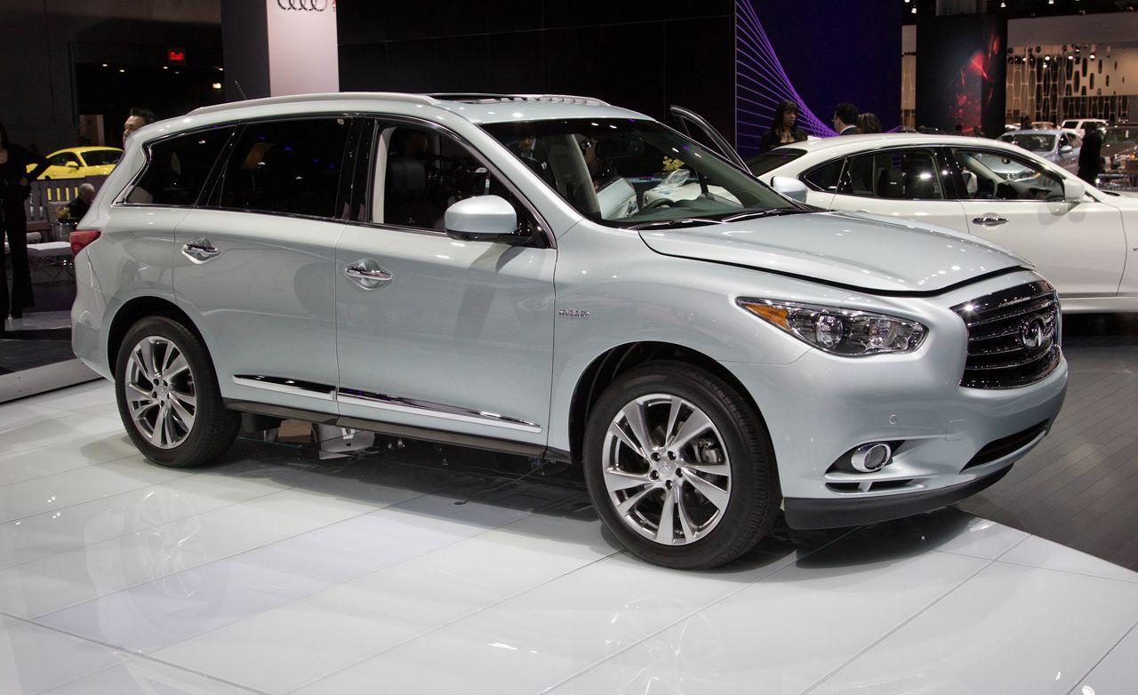 2017 Infiniti Qx60 Hybrid Photos And