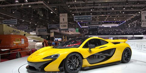 2017 Mclaren P1 1 15m F1 Style Tech And Limited To 375
