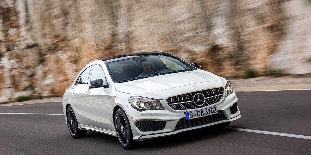 2014 Mercedes Benz Cla250 Cla250 4matic Driven