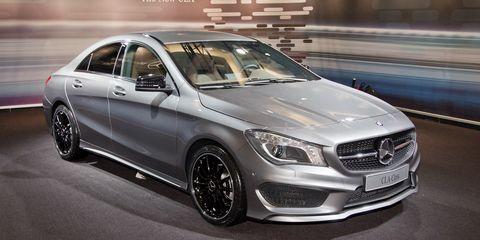 2014 Mercedes-Benz CLA250 Photos and Info –