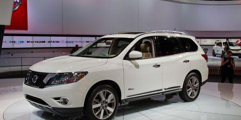 2014 Nissan Pathfinder Hybrid Photos And Info 8211 News 8211