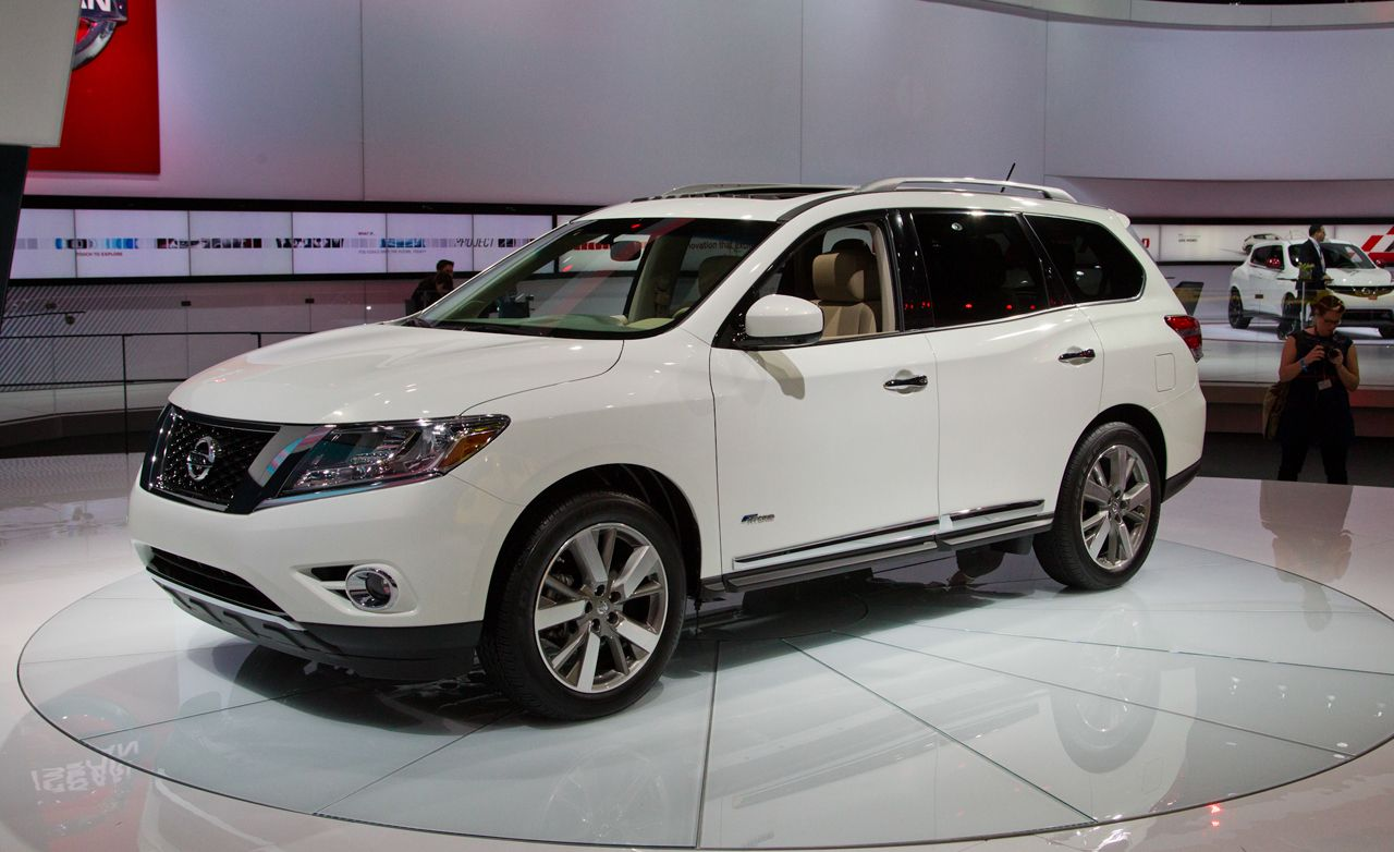 2014 Nissan Pathfinder Hybrid Photos And Info 8211 News 8211 Car And Driver